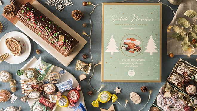 Los supermercados presentan su oferta de comida para Navidad