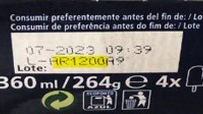 Al menos 46 variedades de helados de Froneri están afectadas por contaminación con óxido de etileno